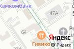 Схема проезда до компании Vieri в Альметьевске