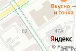 Схема проезда до компании Гринвич в Альметьевске