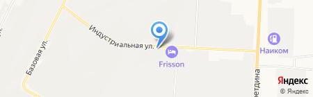 Альметьевский профиль на карте Альметьевска