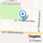 Роса на карте Альметьевска
