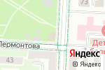 Схема проезда до компании Городской парк им. 60-летия нефти Татарстана в Альметьевске