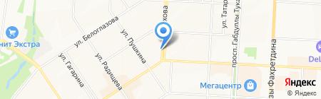 Центр автоэкспертизы на карте Альметьевска