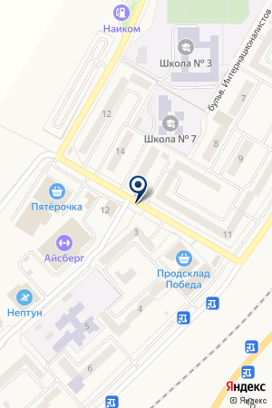 МАГАЗИН АВТОЗАПЧАСТЕЙ РУСЛАН на карте Менделеевска