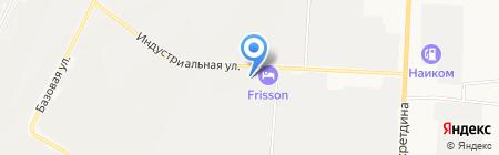 Аквамир на карте Альметьевска
