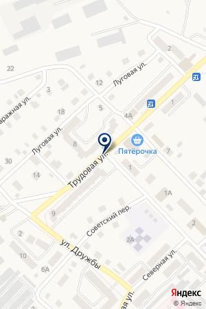АЗС ЕЛАЗНЕФТЕПРОДУКТ на карте Менделеевска