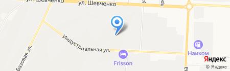Яз на карте Альметьевска
