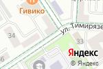 Схема проезда до компании Зефир в Альметьевске