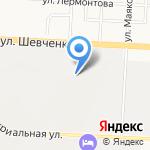 Татнефтеотдача на карте Альметьевска