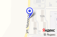 Схема проезда до компании ПРОДОВОЛЬСТВЕННЫЙ МАГАЗИН ДЛЯ ВАС в Менделеевске