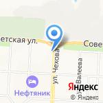 КонтинентЪ на карте Альметьевска