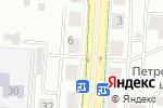 Схема проезда до компании Данстрой в Альметьевске
