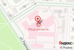 Медико-санитарная часть ОАО Татнефть и Альметьевска в Альметьевске - улица Радищева, 67: запись на МРТ, стоимость услуг, отзывы