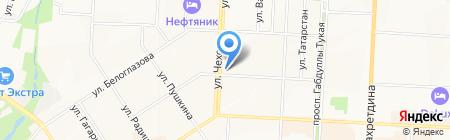 Окна 21 века на карте Альметьевска