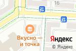 Схема проезда до компании МакДоналдс в Альметьевске