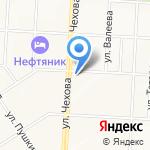 CDEK на карте Альметьевска