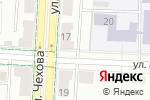 Схема проезда до компании Золотое перо в Альметьевске