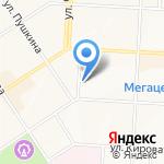 Электроцентр на карте Альметьевска