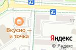 Схема проезда до компании Новатор в Альметьевске
