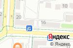 Схема проезда до компании Ситилинк в Альметьевске