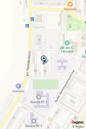 АВТОСТОЯНКА ДРУЖБА на карте Менделеевска