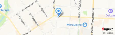 АКБ БТА-Казань на карте Альметьевска
