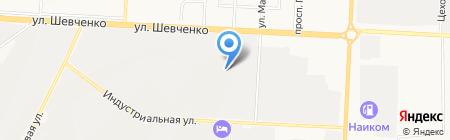 Фортуна на карте Альметьевска