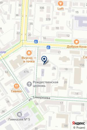 ЦВЕТОЧНЫЙ МАГАЗИН ФЛОРА на карте Альметьевска