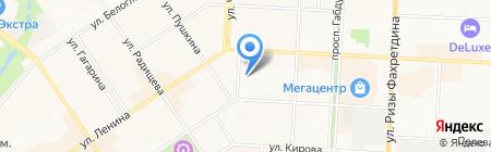 Альметьевская детская художественная школа №1 на карте Альметьевска