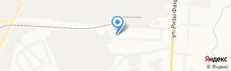 Каменный двор на карте Альметьевска
