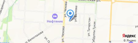 Средняя общеобразовательная школа №2 на карте Альметьевска