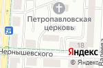 Схема проезда до компании Воскресная школа в Альметьевске
