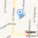 Альметьевская стоматологическая поликлиника на карте Альметьевска