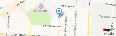 Профилактика на карте Альметьевска
