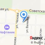 Воскресная школа на карте Альметьевска