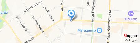 Алмаз-Холдинг на карте Альметьевска