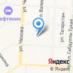 Факультет среднего профессионального образования Альметьевского государственного института муниципальной службы на карте Альметьевска