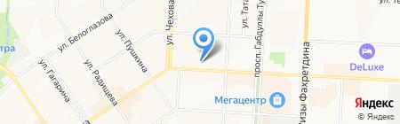 ВСК С на карте Альметьевска