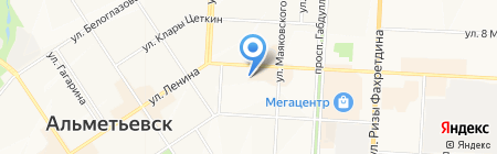 Петрол-Сервис на карте Альметьевска