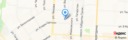 Альметьевский торгово-экономический техникум на карте Альметьевска