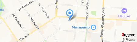 Турбина на карте Альметьевска