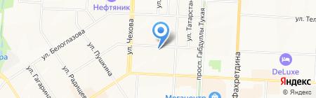 МиллерОтель на карте Альметьевска