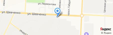 Общежитие на карте Альметьевска