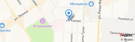 Миранда на карте Альметьевска