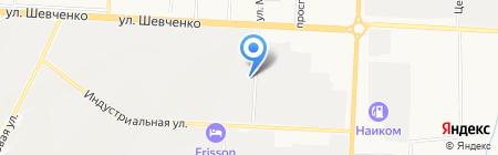 Альянсстрой на карте Альметьевска
