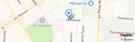СМТ 15 на карте Альметьевска