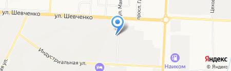 КАИНП на карте Альметьевска