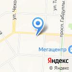 Полиглот-116 на карте Альметьевска