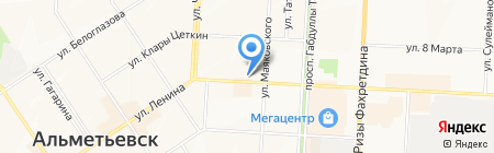 БКС Премьер Банк на карте Альметьевска