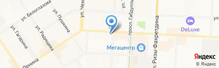 Bayan на карте Альметьевска