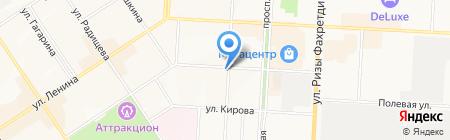 Национальный негосударственный пенсионный фонд на карте Альметьевска